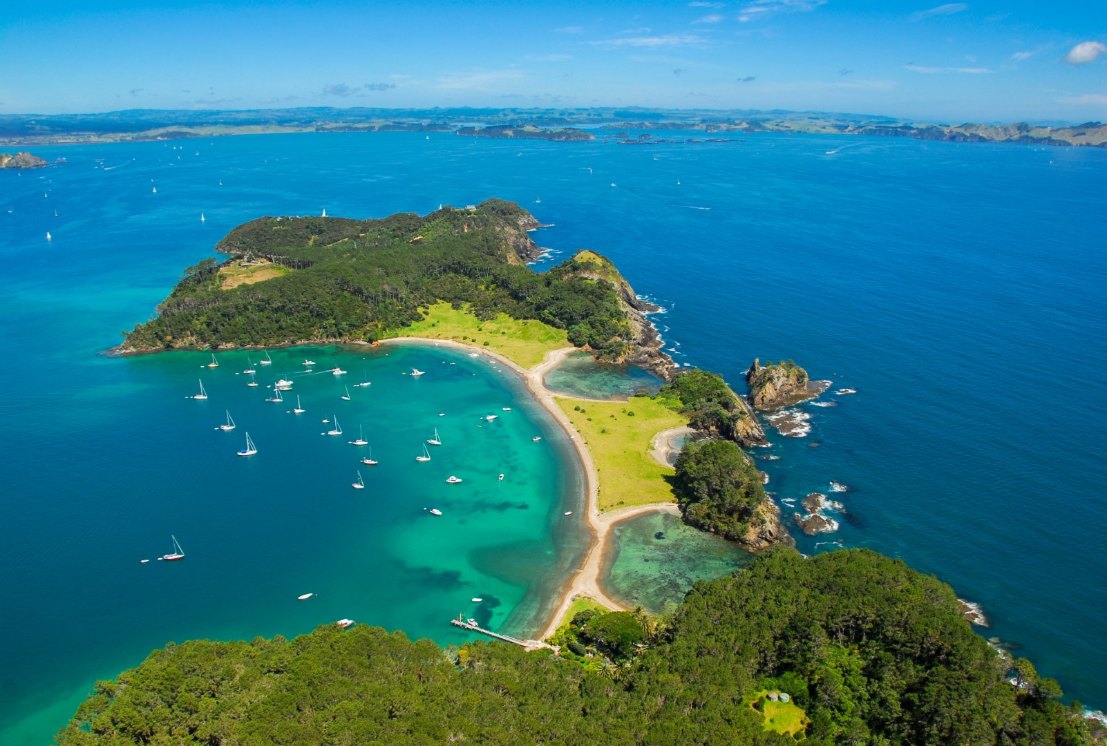 Roberton Island in der Bay of Islands, Photo Credit: Tourism New Zealand